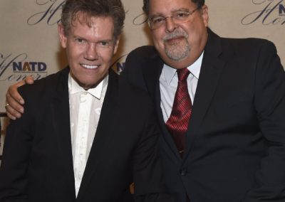 Honoree Randy Travis & Tony Conway