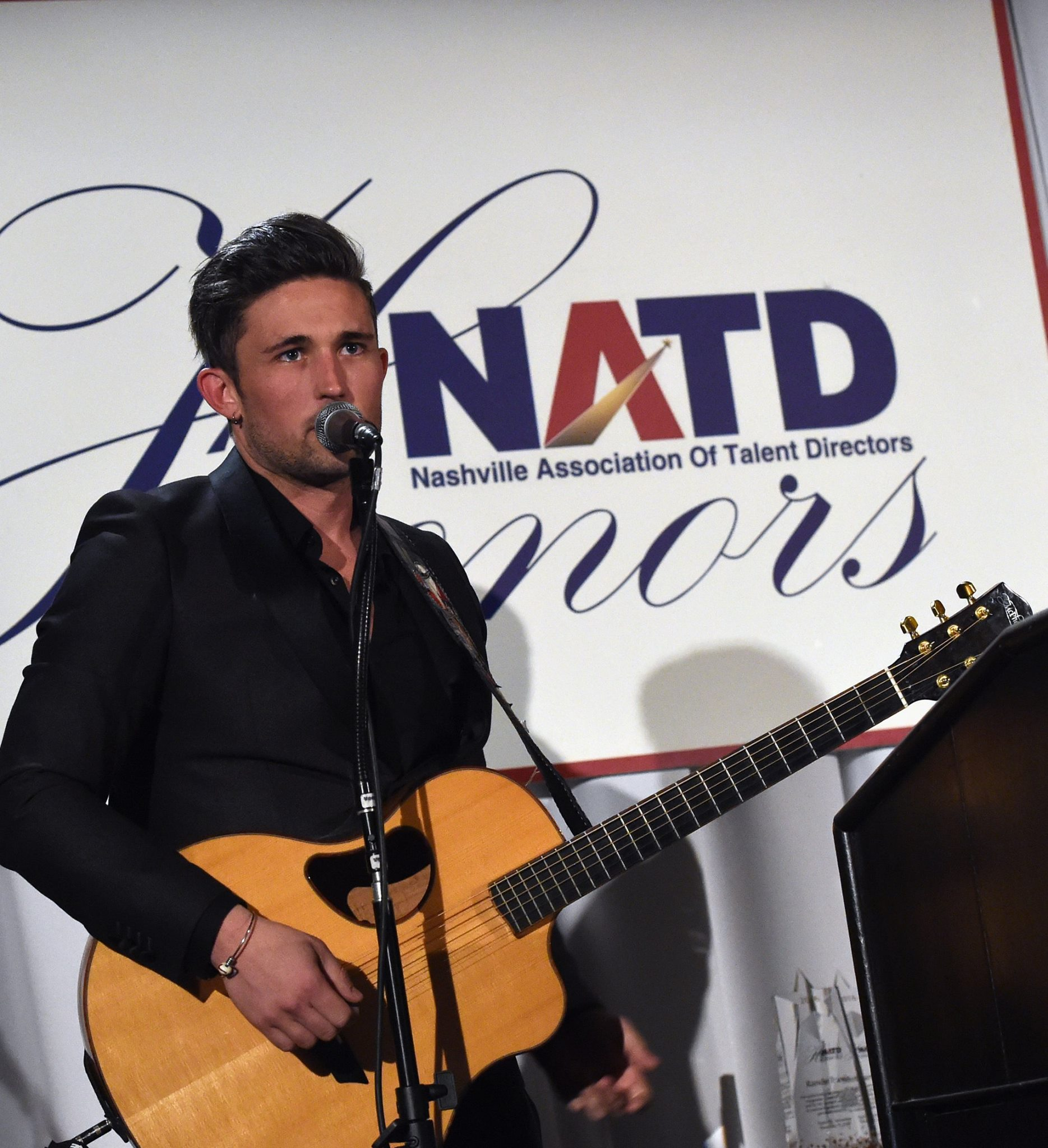 Michael Ray performs for Honoree Randy Travis