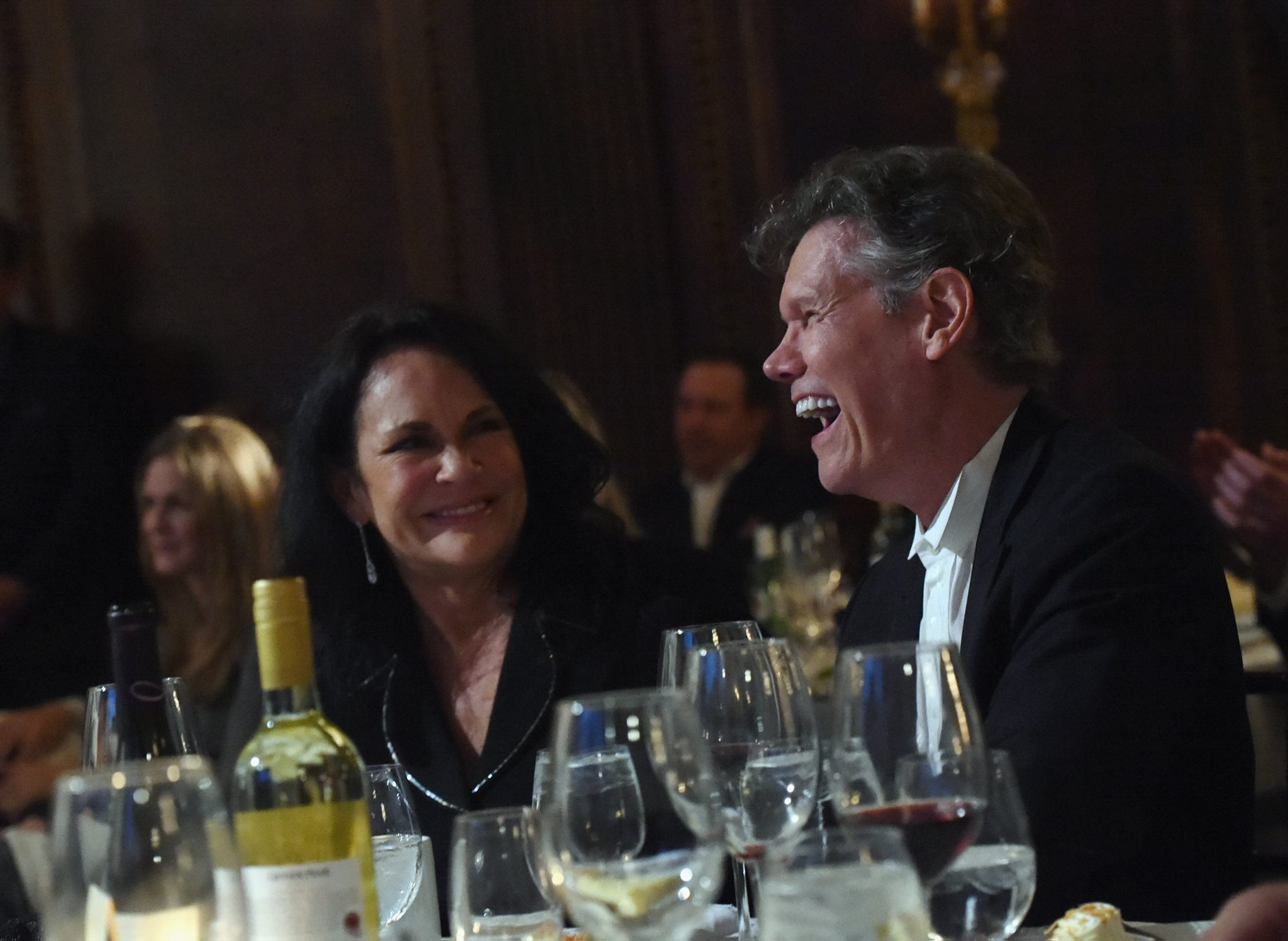 Mary Davis and husband, Honoree Randy Travis