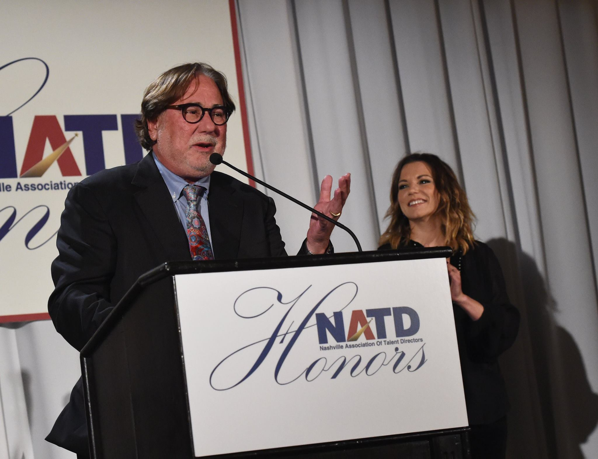 Honoree Rod Essig & Martina McBride