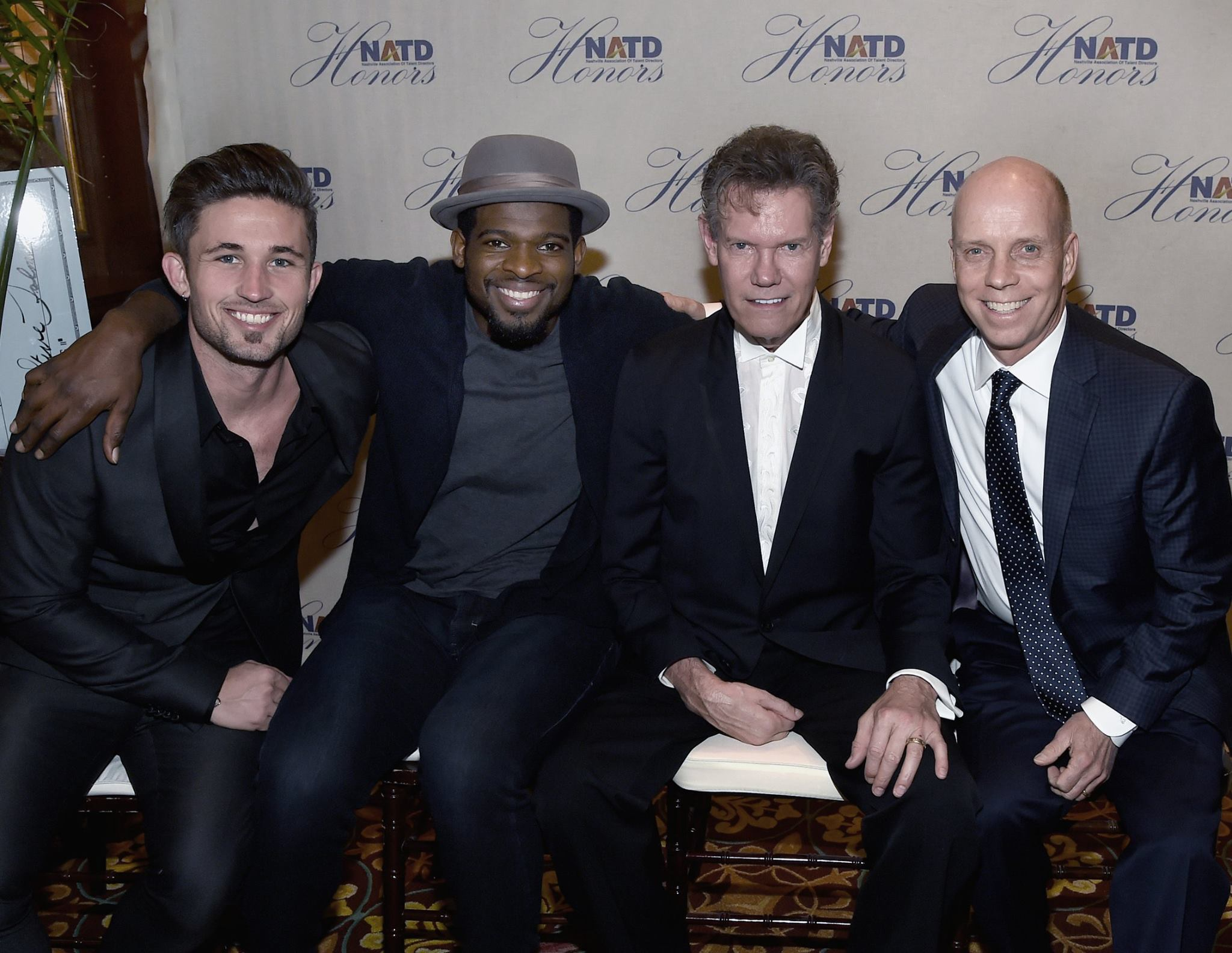 Michael Ray, Honoree P.K. Subban, Honoree Randy Travis & Honoree Scott Hamilton