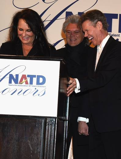 Mary Davis, husband Honoree Randy Travis & Marty Stuart