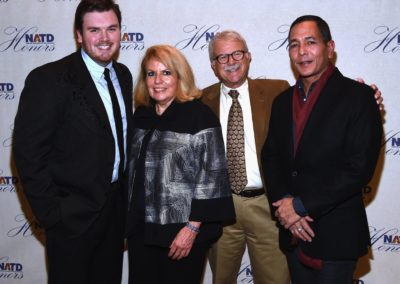 Webster PR's Zach Farnum, APA's Bonnie Sugarman, Ray Shelide & Frank Wing