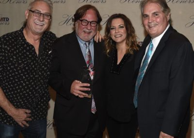 John McBride, Honoree Rod Essig, Martina McBride & Charlie Brusco