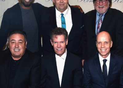 2016 Honorees: (back row) P.K. Subban, Mike Smardak, Rod Essig, (front row) Doc McGhee, Randy Travis, Scott Hamilton