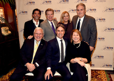 2015 honorees with NATD President Steve Tolman