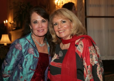 Patti Donahoe with Bonnie Sugarman