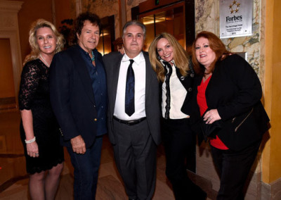 NATD Exec. Asst. Tina Payton, Henry Paul, honoree Charlie Brusco, Jeanne Mason & Cindy Brusco