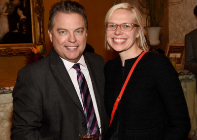 CAA's Jeff Gregg and Lucy Kozak