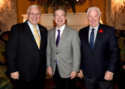 Honoree Pete Weber, Steve Tolman and Terry Crisp