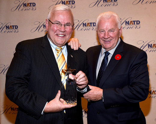 Predators announcers Pete Weber & Terry Crisp