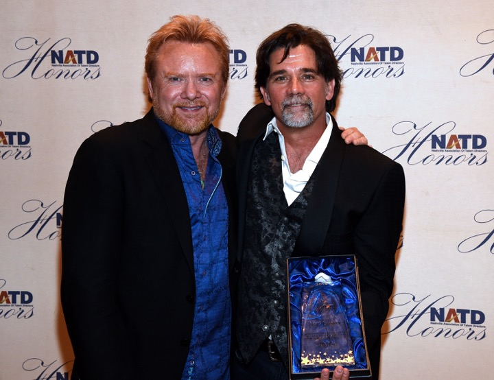 Lee Roy Parnell with honoree Steve Lassiter