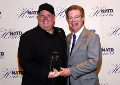 Kirt Webster with NATD President Steve Tolman