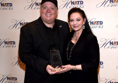 Kirt Webster with Crystal Gayle